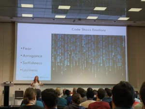 "Kate Gregory's plenary keynote ""Emotional Code"""